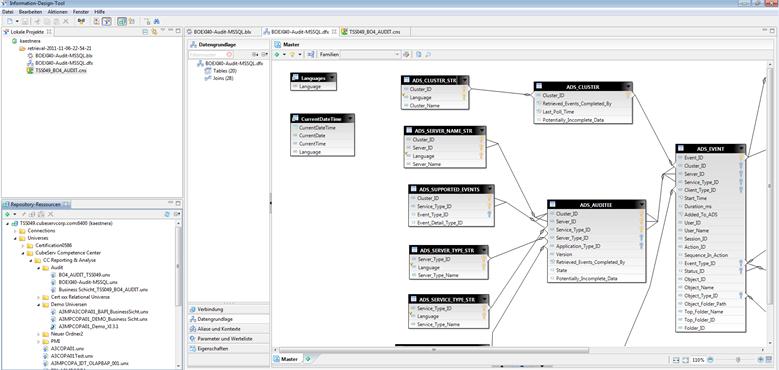 Non-SAP Datenzugriffe (Tabellen, Verknüpfungen, Joins)